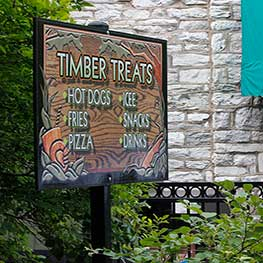 Timber Treats at ZooAmerica