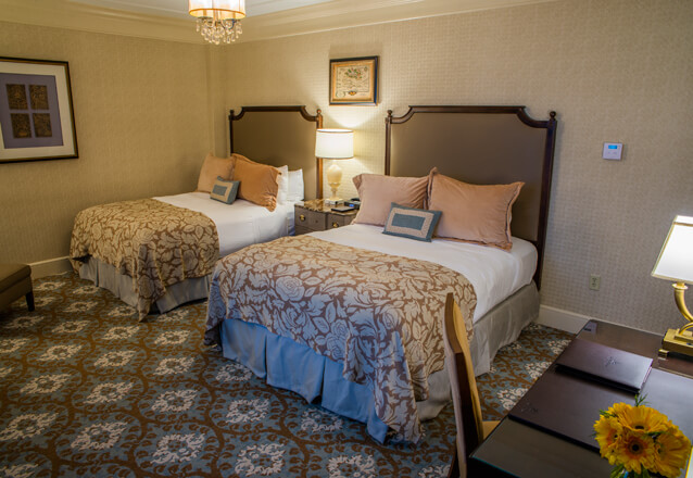 Suite at the Hotel Hershey with two Queen Beds