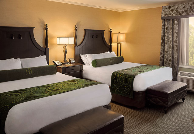 Hershey Lodge Room with two Queen Beds